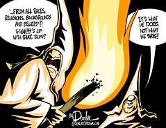 1116 trump inclusive cartoon (DSL art and photos) Tags: editorialcartoon donlee donaldtrump bannon breitbart strategist whitehouse