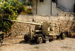 artillery (5) (maskirovka77) Tags: israeldefenseforces idf museum idfmuseum tanks m48 outdoors hdr armoredcar artillery antiaircraft armoredpersonnelcarrier bridgingequipment