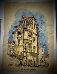 Real Republica PrKySto - Coimbra (JMADesigner) Tags: prkysto republica sketchs urbansketchers urbansketchs coimbra papel estudantes aac academica