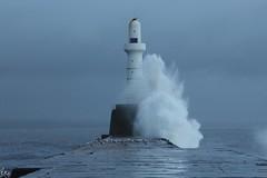 (wolfskin17) Tags: stormy northsea torry breakwater waves sea scotland aberdeen autumn
