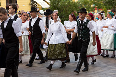 International folk dance festival, Pcs of Hungary (digoarpi1) Tags: art artist audience pecs black clothe color colorful costume country cultural culture dance decoration editorial entertaiment summer festival folk friendship fun happiness holiday hungarian hungary international musical nation people perform performance person place red region show traditional travel village white august senior mustache