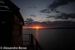 Couch de Soleil - Plage de Fou - Nouvelle Caldonie (alexandre_besse) Tags: nouvelle caledonie new caledonia noumea nature naturel paysage ciel couch de soleil couleur longue temps nuages soir plage cabane pose