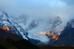 Glacier (J.Dmt) Tags: randonnée montagne paysage hautesalpes panorama sunrise brume col lautaret