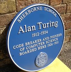 Alan Turingx (bertngus) Tags: alan turing blue plaque