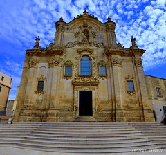 Chiesa San Francesco di  Assisi Matera Mt (Arcieri Saverio) Tags: chiesa matera mt sanfrancesco lucania travel sky viaggiare blue nikon nikkor sigma1020 d5100