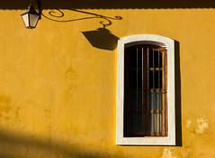 Yello Sunshine! (soni.jayantika) Tags: pondicherry india travel yellow minimalism minimal window lamp post shadows light