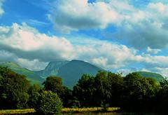 Ben Nevis (Alan FEO2) Tags: bennevis grampian scotland mountains trees sky clouds landscape horizon outdoors fujifilm finepix 2600