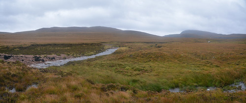 Sandwood Panorama - Real wilderness around Strathchailleach Bothy