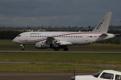 EI-FWB landing. (aitch tee) Tags: cardiffairport aircraft airliner sukhoisuperjet cityjet eifwb landing cwlegff maesawyrcaerdydd walesuk