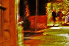Grey Street #107a (SJ Finn) Tags: sjfinn flickr flickriver street night time movement blur