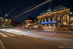 Centralstation (Marco Calandra Photography) Tags: centralstation city citylight goteborg gothenburg lighttrails longexposure night gteborg station