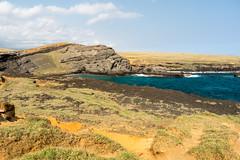 Papakolea Green Sand Beach (koalie) Tags: 2015wintervacation greensandbeach hi hawaii kalae papakoleagreensandbeach southpoint usa vacation naalehu unitedstates us