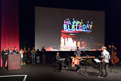 Flux Screening at the Hammer October 12, 2016 (helloflux) Tags: billywildertheater film flux hammermuseum losangeles short musicvideo screeningseries westwood california birthday surprise