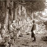 ENAMI - S 873  The Hundred Stone Images at Nikko thumbnail