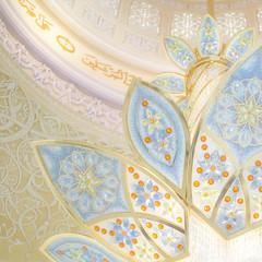 (isac babel) Tags: moschea dettaglio lampadario sheikhzayedmosque