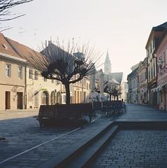 Gajeva Street, Varadin (Koprek) Tags: rolleiflex 28f gajeva street varadin