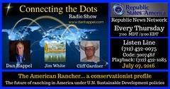 July 7 2016 The American Rancher and UN Sustainable Development (danhappelmontana) Tags: rancher agenda21
