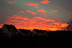 Morgenrot (ute_hartmann) Tags: sonnenaufgang