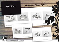56 Art Catalog AVL glas (gabrielgs) Tags: graphicdesign vormgeving grafischevormgeving ontwerp design print flyers stationary logo huisstijl