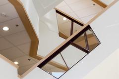 Variaties op Escher (Bram Meijer) Tags: isala zwolle ziekenhuis hospital trappenhuis stairs