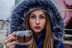 Katya (ivan_volchek) Tags: girl face cup tea eyes portrait