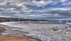 Stormy seas at Dunbar, Scotland (Baz Richardson (catching up again!)) Tags: scotland dunbar eastlothian coast stormyseas