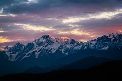First Light (Maulindu Chatterjee) Tags: chopta kedar kedarnath peak sunrise