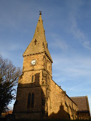 Alnmouth church clock tower (Granpic) Tags: northumberland northumbrianchurch alnmouth alnmouthchurch alnmouthstjohnthebaptist