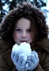 (lindapeterane) Tags: girlportrait photography snow winter childhood littlegirl