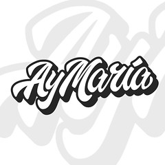 AY MARIA (Abel Snchez.) Tags: logotype logo typography lettering letters design branding brandidentity synthpop aymaria