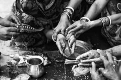 Kolkata - Calcutta (daniele romagnoli - Tanks for 15 million views) Tags:    indien india romagnolidaniele d810 nikon asia  inde indiana indiani  strada street road bianconero biancoenero bw indie calcuta calcutta blackandwhite face monocromo monochrome kolkata mani religione religion preghiere rito tradizione prire prayer prayers induismo sacro hands rite mains manos