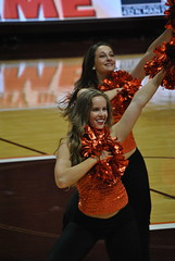 THE HIGH TECHS (SneakinDeacon) Tags: acc vt vatech hokies cassellcoliseum cheerleaders bigsouth basketball hightechs panthers highpoint