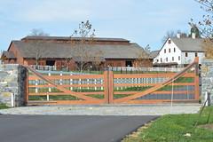 Conowingo & Lancaster 081 (dena429) Tags: farm farmlane lane gates horsebarn whitefence fence field barn largebarn agriculture farming