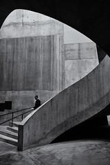 www.arieldasnapper.com (Ariel DaSnapper) Tags: tatemodern gallery architecture staircase monochrome blackandwhite bnw bw london fujifilm xpro1 streetphotography