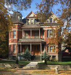 A house in Helena,Montana. (montanatom1950) Tags: helenamontana helena montana victorican historichouses