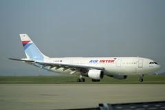F-BUAH Airbus A.300B2-1C Air Inter (pslg05896) Tags: fbuah airbus a300b airinter ory lfpo paris orly