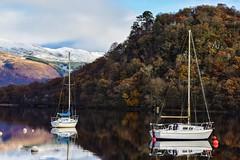 DSC_0004_edited (Polleepops) Tags: luss scotland landscapes blackandwhite lochs water