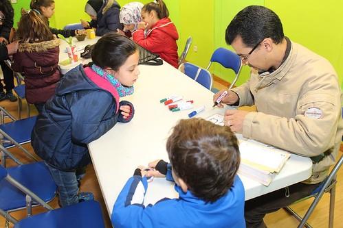 Hoy celebramos una Hacendera con entidades de la ciudad en El Centro Municipal de La Pollina, para recoger aportaciones para elaborar el IV Plan de la Infancia de #Fuenlabrada
