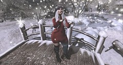 First snow (SouRiNy DeZnO) Tags: blog catwa dstyle event fashion french imageessentials maitreya secondlife sl snow souriny thefrozenfair wasabipills winter wintertrend