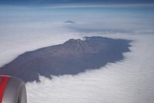 Kilimanjaro by plane