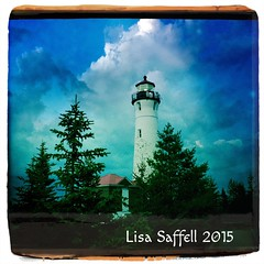 (Lisa Saffell) Tags: michigan lakesuperior crisppointlighthouse