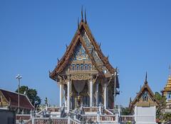 Wat Sawangfa Pruetaram Phra Ubosot (DTHCB0105)   (Gerry Gantt Photography) Tags: thailand temple wat chonburi   thailand banglamungdistrict tambonnakluea  chonburi chonburi  tambonnaklueabanglamungdis watsawangfapruetaram tambonnaklueabanglamungdistrict