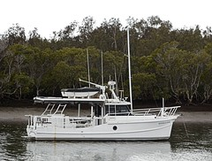 Mangrove Anchorage (donaldcee) Tags: australia anchorage mangrove queensland moretonbay donpicks