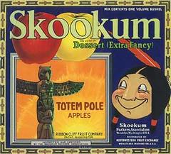 "Skookum Totem Pole • <a style=""font-size:0.8em;"" href=""http://www.flickr.com/photos/136320455@N08/21460742582/"" target=""_blank"">View on Flickr</a>"