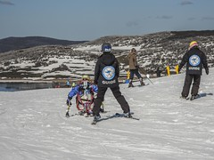 Disabled Wintersport Australia (phunnyfotos) Tags: snow weather spring nikon skiing australia victoria disabled d750 vic guide guides fallscreek highcountry skiers dwa northeastvictoria rockyvalleydam phunnyfotos nikond750 disabledwintersportsaustralia