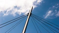 Maribyrnong (wtewg) Tags: bridge blue sky architecture clouds design spring october australia victoria nikond50 13th 2015 maribyrnong