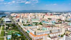 view over Pyongyang City