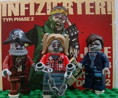 Zombie Parade (captain_joe) Tags: toy lego zombie pirate minifig minifigure zombine series14 365toyproject