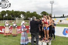 Premiazione 4x400 femminile