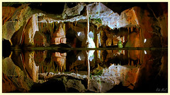 Mites and Tites-1 (Rob McC) Tags: uk pool reflections underground caves stalagmites stalagtites cheddargorge explored calcareousrock